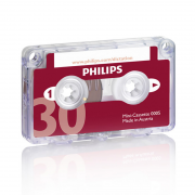 Philips Mini-Kassette 2x15 Minuten LFH0005, 10er Pack